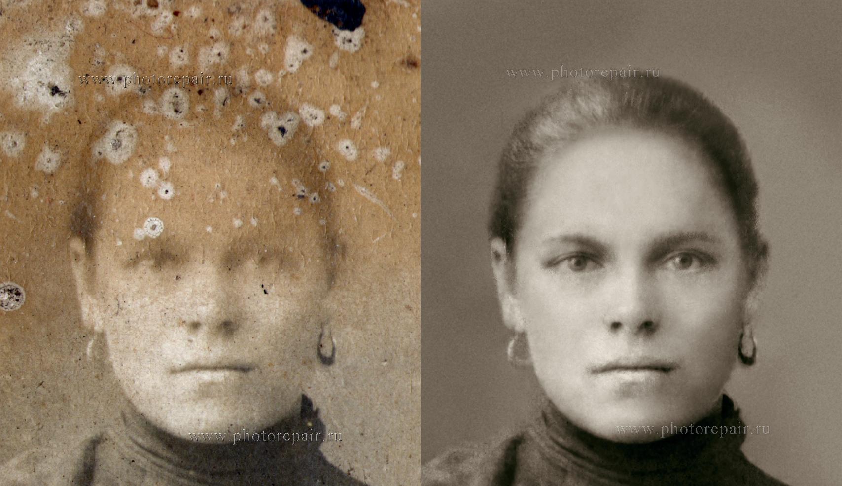 восстановление лица без дополнительных фотографий