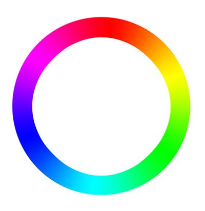 цветовой круг RGB