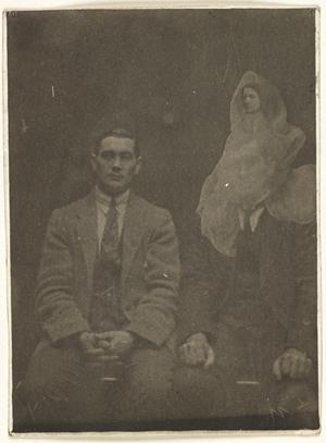 фото призрака, Вильям Хоуп