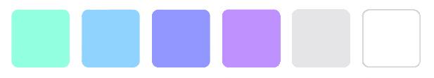 активные и пассивные цвета