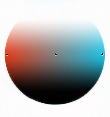 дополнительные цвета на цветовом круге