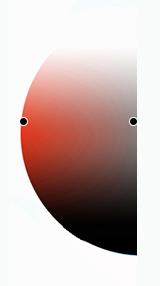 контраст по насыщенности на цветовом круге
