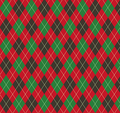 красный и зеленый узор