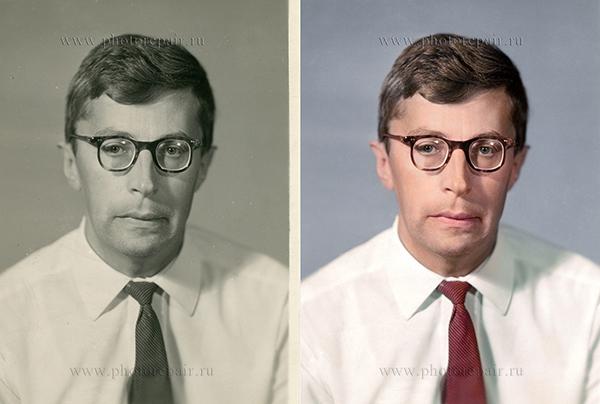 пример реставрации фото