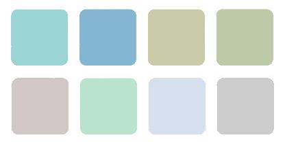 прозрачные цвета