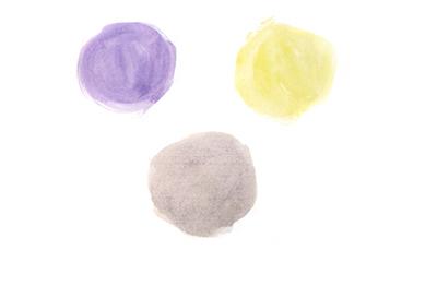 фиолетовый желтый