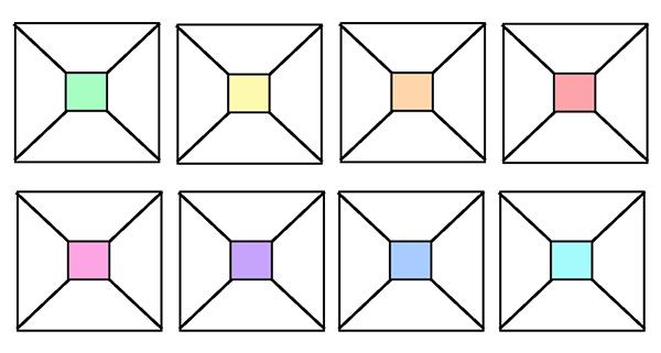 цвет, пространство и объем